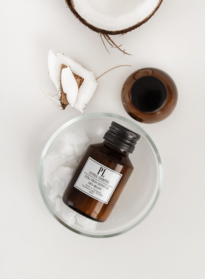 Кокосовое масло холодного отжима (нерафинированное)