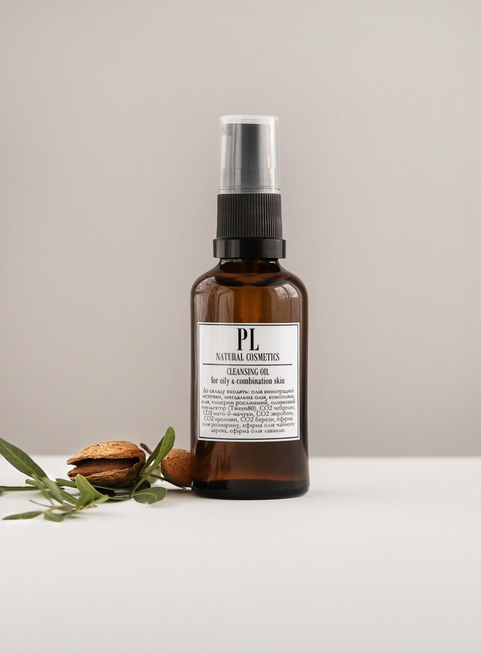 Hydrophilic cleansing oil for oily / combination skin